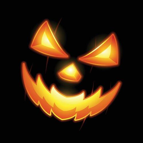Vector Halloween Jack khuôn mặt đèn lồng