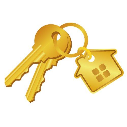 Vector chìa khóa nhà