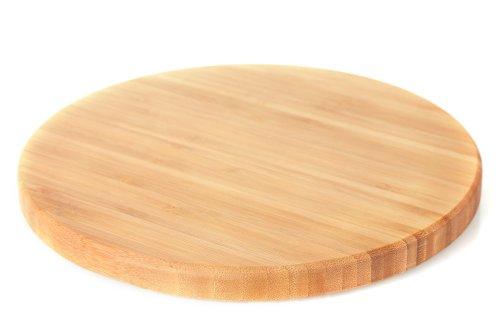 Ảnh chụp bề mặt thớt gỗ trên nền trắng
