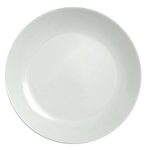 Ảnh chụp chiếc đĩa trống rỗng trên nền trắng