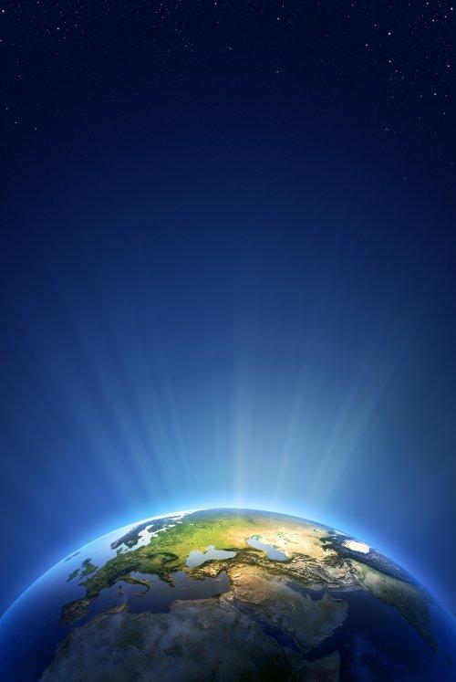 Ảnh chụp Ánh Sáng Trái Đất