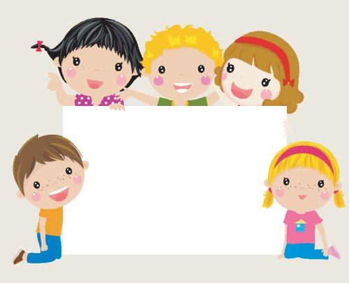 Vector Khung hình trẻ em vui nhộn