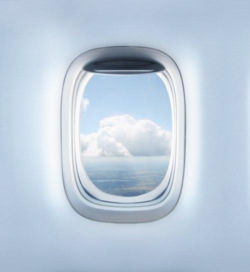 Hình ảnh những đám mây trong khoang máy bay