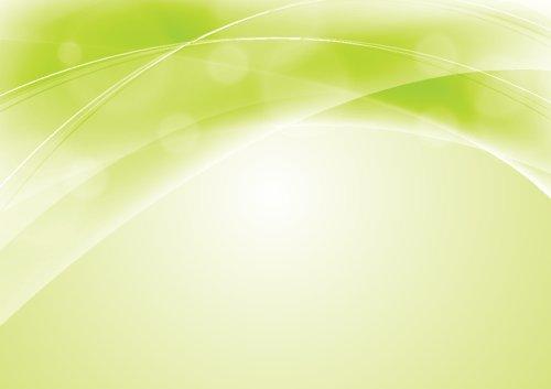 Vector ánh sáng lượn sóng nền màu xanh lá cây