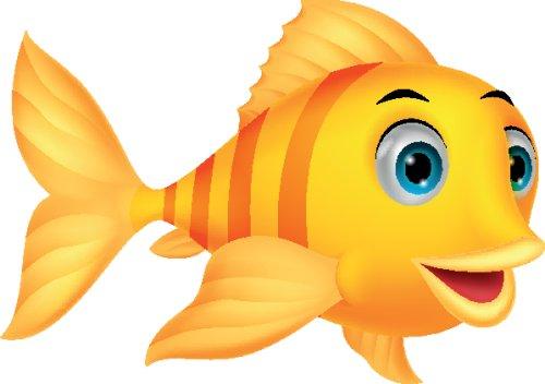 Vector Cá hoạt hình dễ thương