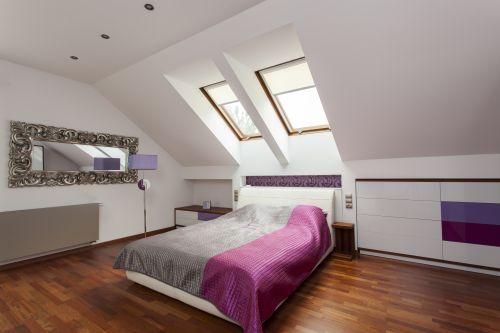 Hình ảnh về căn hộ phòng ngủ mới với giường ngủ lớn