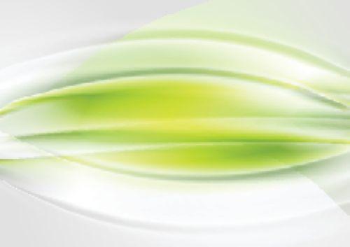Vector nền ánh sáng màu xanh lá cây lượn sóng