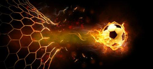 Ảnh biểu tượng ngọn lửa trên nền màu đen