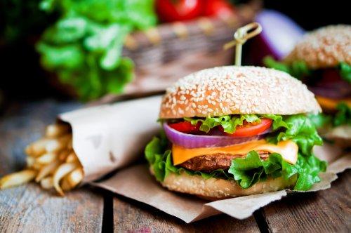 Hình ảnh bánh hamburger