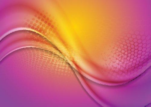 Vector trừu tượng ánh sáng sóng