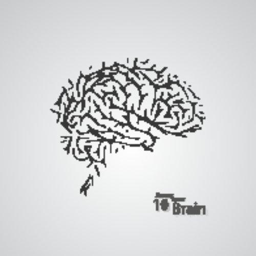 Vector khái niệm sáng tạo của bộ não con người