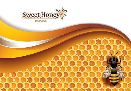 Vector nền Mật ong