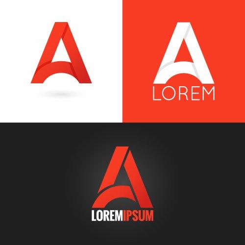 Vector lá thư, biểu tượng thiết lập nền 10 eps