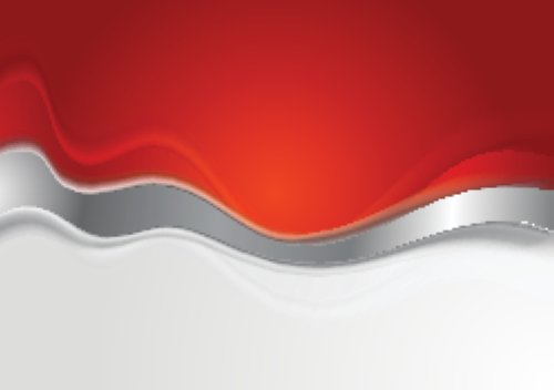 Vector nền sáng với sóng kim loại.