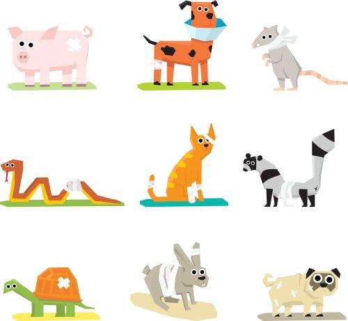 Vector biểu tượng chăm sóc sức khỏe động vật