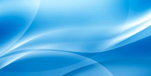 Ảnh sóng màu xanh trừu tượng