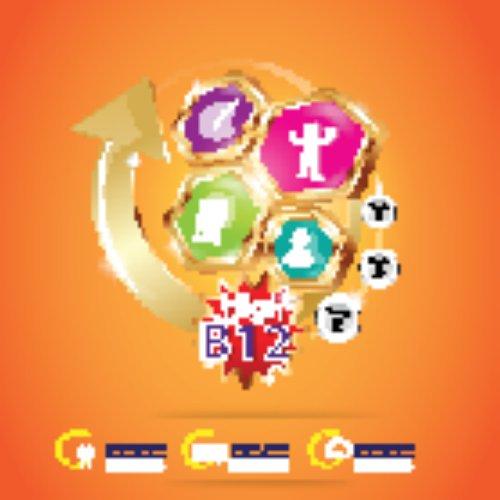 Vector Logo Bao bì Vitamin Trẻ em