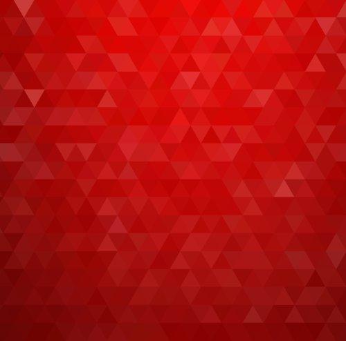 Vector nền hình tam giác đỏ đầy màu sắc