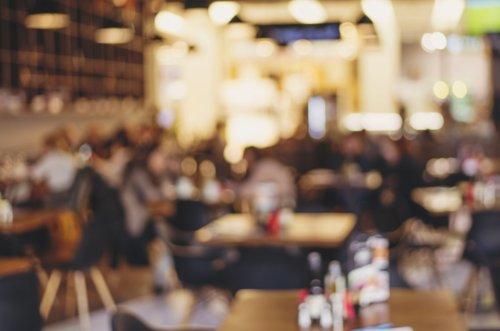Ảnh chụp nhà hàng kiểu mơ hồ, hình ảnh hiệu ứng phong cách cổ điển