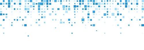 Vector nền trắng với hình vuông màu xanh