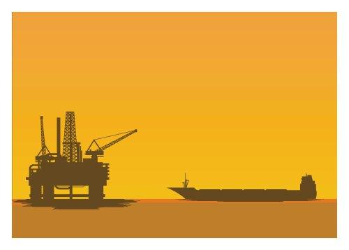 Vector giàn khoan dầu