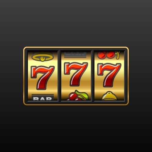 Vector 777  biểu tượng chiến thắng trong máy đánh bạc