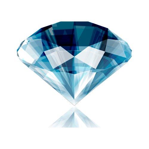 File PNG viên kim cương màu xanh lục