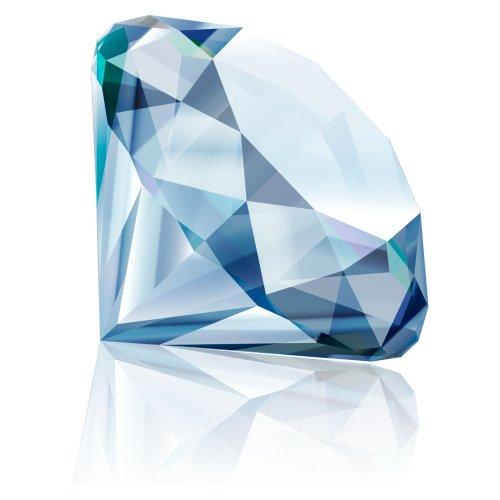 File PNG hình ảnh viên kim cương màu xanh lục nằm ngang