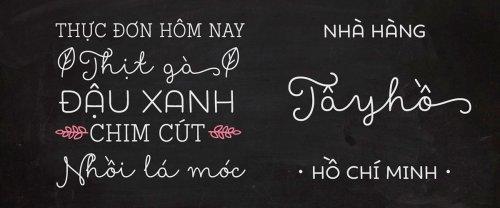 Bộ font chữ đẹp được việt hóa , hơn 100 font