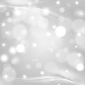 Ảnh Giáng sinh trên nền màu xám trắng với các ngôi sao mờ
