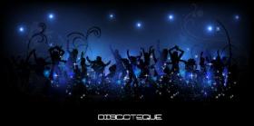 Vector hình nền nhóm thanh niên khiêu vũ