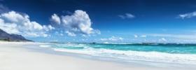 Ảnh chụp cảnh quan bãi biển Clifton, Cape Town, Nam Phi