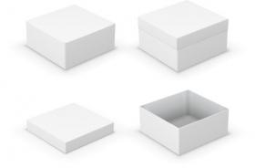 Vector hộp mở