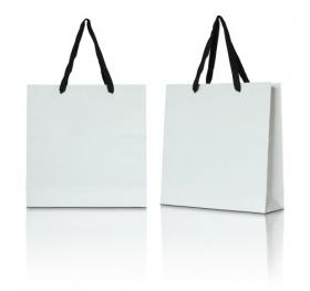 Ảnh túi giấy trắng trên nền trắng