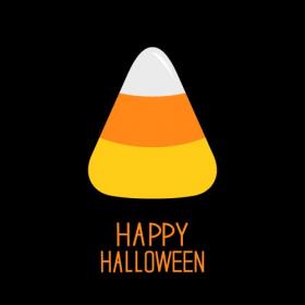 Vector Bánh kẹo thẻ Chúc mừng Halloween