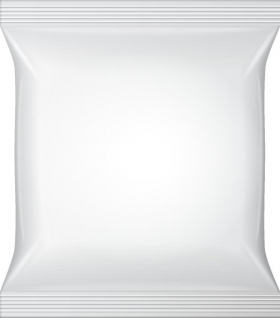 Vector bao bì màu trắng