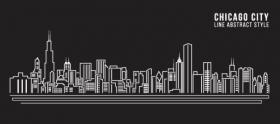 Vector xây dựng nghệ thuật cảnh quan thành phố