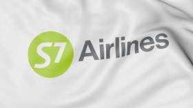 Ảnh Lượn cờ của Hãng hàng không S7  biên tập 3D
