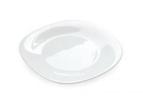Hình ảnh chiếc đĩa trắng tách ra khỏi nền